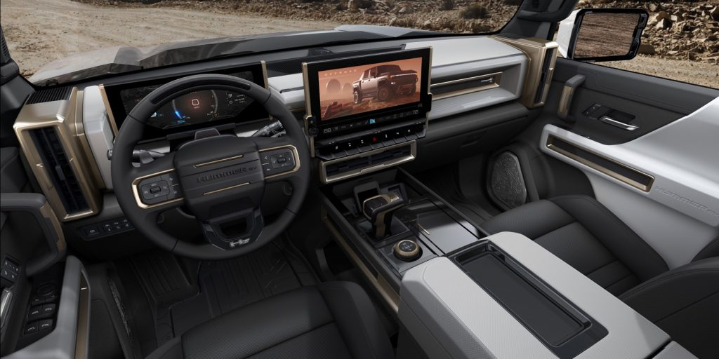 2022 GMC Hummer EV Pickup - Edition 1 - Interior 001 - cockpit