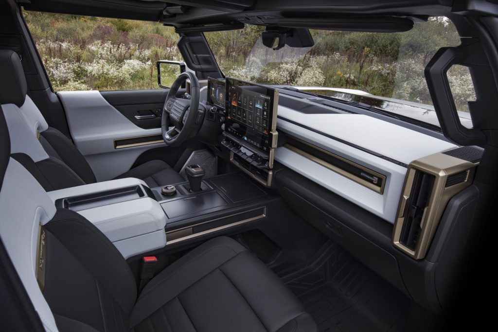 2022 GMC Hummer EV Pickup - Edition 1 - Interior 002 - cockpit