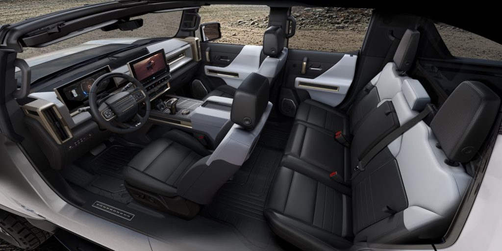 2022 GMC Hummer EV Pickup - Edition 1 - Interior 003 - cabin