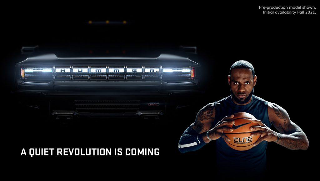 GMC HUMMER EV - Quiet Revolution - Grille - Featuring LeBron James 002