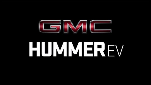 GMC Hummer EV - Teaser - Video - Screen Grab - Hummer EV Logo - Text
