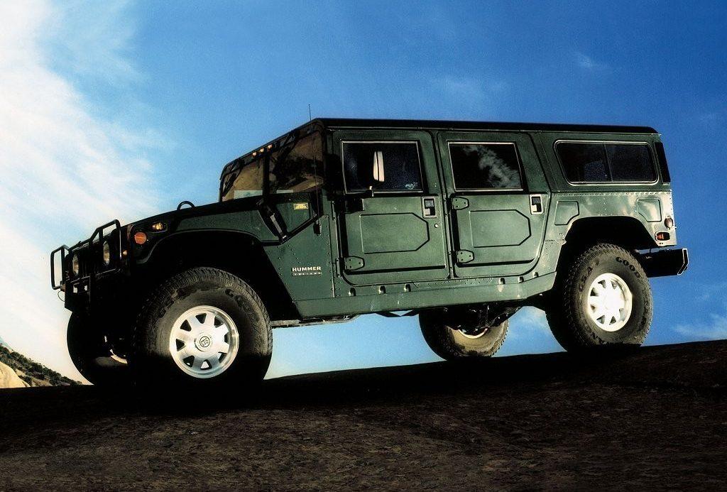 Hummer H1 - Wagon - Profile - Exterior - Green